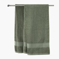 Bath sheet KARLSTAD 100x150 army green