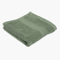 Face cloth KARLSTAD army green KRONBORG