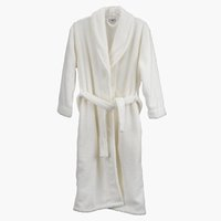 Bathrobe NITTA S/M white