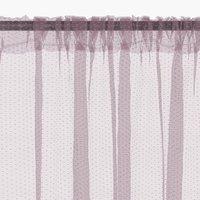 Záclona LYA 1x140x245 fialová
