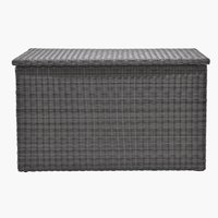 Cushion box TAMBOHUSE W150xH91xD77 grey