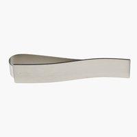 Държач за завеса MERKUR с магнит сребро
