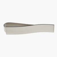 Cataramă perdea MERKUR magnet argintie