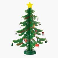 Коледно дърво SIF В29 см SDP с декорация