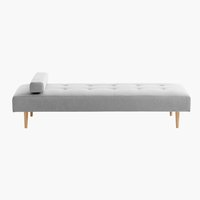 Daybed NOREFJELL lichtgrijs