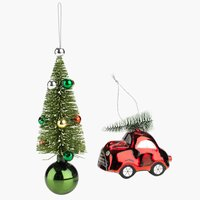 Christmas decorations OLIVIN 2 pack