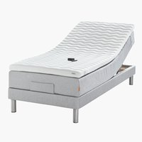 Elektr bed 90x200 GOLD E40 latex Grijs27