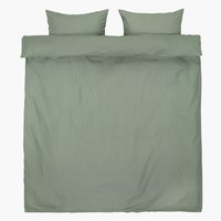 Duvet cover ELLEN DBL green