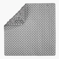 Non-slip bath mat VITTINGE 55x55 grey