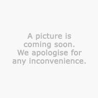 Vaza JONNY Ø12xV15 cm srebrna