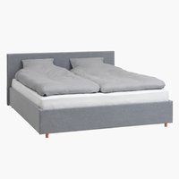 Okvir kreveta EGERSUND 140x200 sv.siva