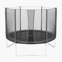 Trampoline STOJ D250 w/safety net grey