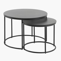 Nest of tables MOELV grey