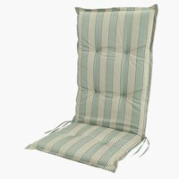 Hagepute TRANEHOLM reg.bar stol grønn