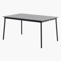 Τραπέζι AGERMOSE Π90xΜ150 γκρι