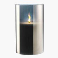 Свещ FISKEHEJRE Ø15xВ25 см с LED