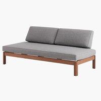 Κρεβάτι-καναπές OKSVANG γκρι