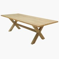 Table BREKSTAD W100xL240 nature