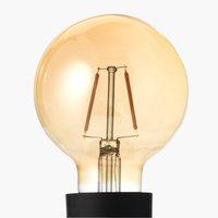 Lampadina TORE 2W E27 G80 120 lumen