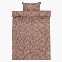 Duvet cover CAMILLA Sateen 140x200 brown