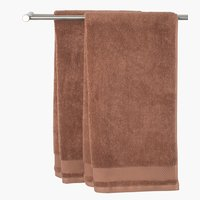 Bath towel NORA light brown