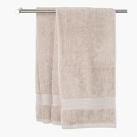 Gæstehåndklæde KARLSTAD 40x60 sand