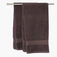 Bath towel KARLSTAD brown