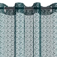 Függöny LURO 1x140x300 pókháló kék