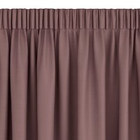 Dimout curtain AMUNGEN 1x140x300 taupe
