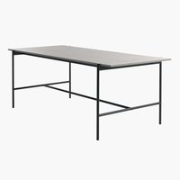 Dining Table TERSLEV 90x200 concrete