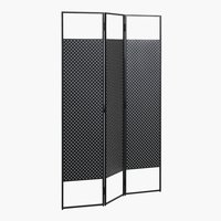 Dressing screen VIRUM black
