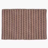 Bath mat EDANE 60x90 light purple