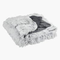 Ριχτάρι LOTUS 160x220 λευκό/γκρι