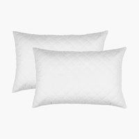 Quilted pillow protector 48x74 cm 2 pack