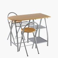 Стол VEJSTRUP + 2 стула VEJSTRUP