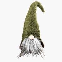 Weihnachtswichtel ODIN H56cm grün