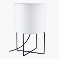 Lampada da tavolo BRANDUR Ø16xH25cm bian