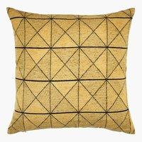 Cushion LUNDKARSE 45x45 yellow
