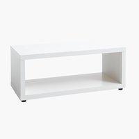 Mobile TV/tavolino KALUM bianco