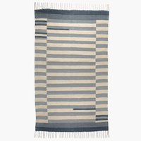 Rug SKJOLDBLAD 90x150 off-white/blue
