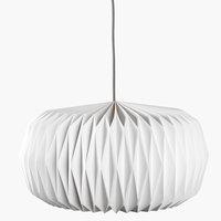 Lampă VALDER 44x25cm albă