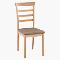 Jídelní židle BJERT barva buku/hnědá