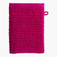 Waschhandschuh LIFESTYLE pink