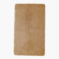 Tapis bain UNI DE LUXE 65x110 brun clair