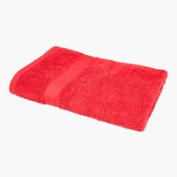 Drap de douche BREEZE 65x135 rouge