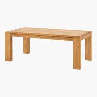 Table TANGERIS 100x200 chêne