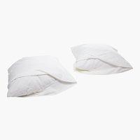 Taie d'oreiller Molletonné 65x65 blanc