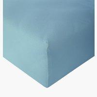 Sábana ajust Jersey 135x200x30cm azul em