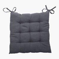 Coussin de chaise LORETTA 40x40x3 gris