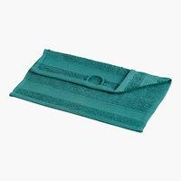Waschlappen KRONBORG CLASSIC dunkelgrün